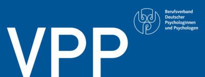 Logo des Verbands Psychologischer Psychotherapeutinnen und Psychotherapeuten e.V.