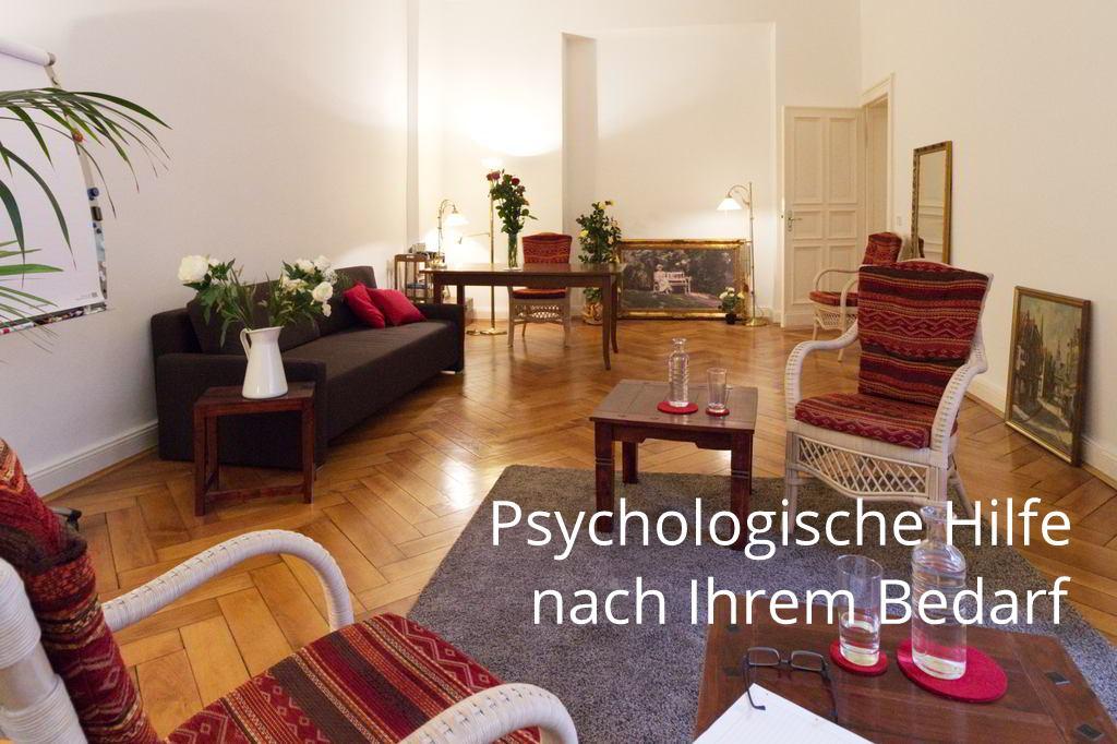 Blick in den Besprechungsraum der Praxis Prof. Dr. Anne Grohn