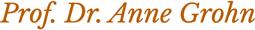 Anne Grohn Logo